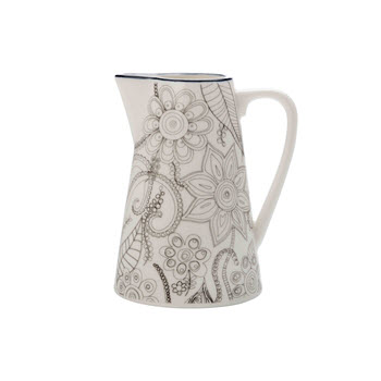 Christopher Vine Eden 260ml Jug Charcoal