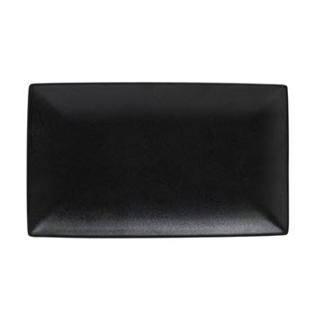 Maxwell & Williams Caviar 27 x 16cm Rectangle Platter Black