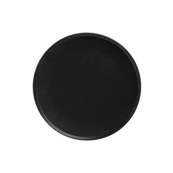 Maxwell & Williams Caviar 26.5cm High Rim Plate Black