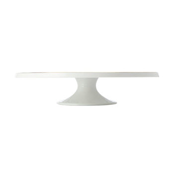 Maxwell & Williams Oro Footed Cake Stand White Gift Boxed 30cm