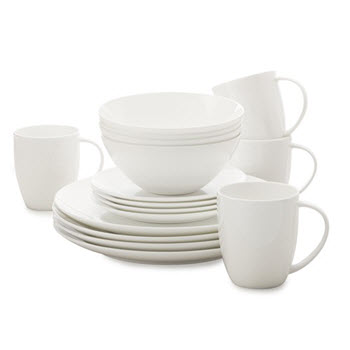 Maxwell & Williams Cashmere Classic 16 Piece Coupe Dinner Set