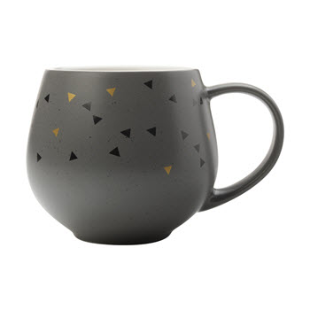 Maxwell & Williams Arlo 450ml Snug Mug Charcoal