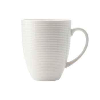 Casa Domani Casual White Evolve 340ml Coupe Mug