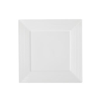 Casa Domani Casual White Evolve Square 18cm Side Plate
