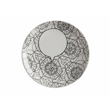 Maxwell & Williams Mindfulness Messages 19cm Kaleidoscope Plate Gift Boxed