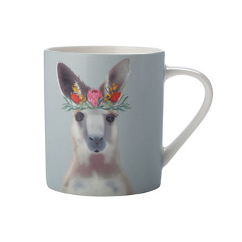 Christopher Vine Beautiful Australians 370ml Mug Kangaroo Gift Boxed