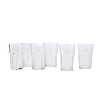 Maxwell & Williams 310ml Faceted Tumblers Set of 6
