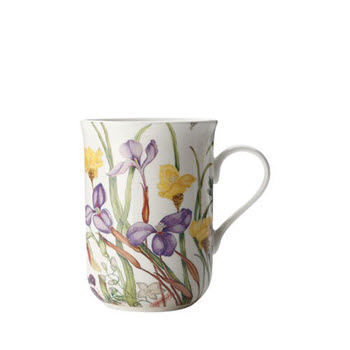 Maxwell & Williams Euphemia Henderson Mug Native Iris