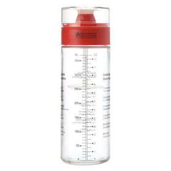 Maxwell & Williams Chef Du Monde Salad Shaker Red 400ml Gift Boxed