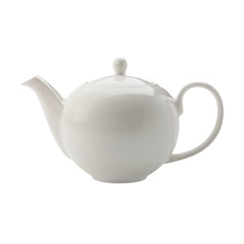 Maxwell & Williams White Basics 1L Teapot Gift Boxed