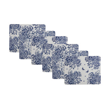 Maxwell & Williams Toile de Fleur Gift Boxed Placemat Set of 6