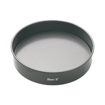 Mastercraft Heavy Base Loose Base Round Sandwich Pan 20cm