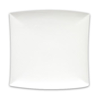 Maxwell & Williams 30cm Square East Meets West White Basics Platter