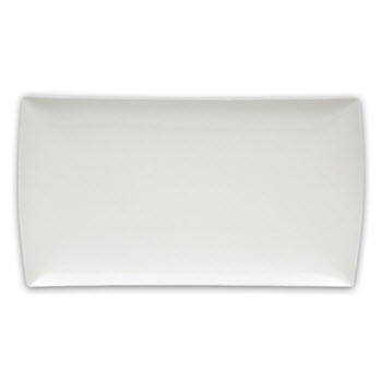 Maxwell & Williams 26cm Rectangular East Meets West White Basics Platter