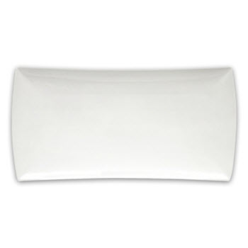 Maxwell & Williams 36cm Rectangular East Meets West White Basics Platter