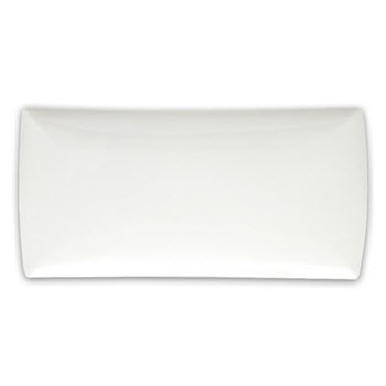 Maxwell & Williams 40cm Rectangular East Meets West White Basics Platter