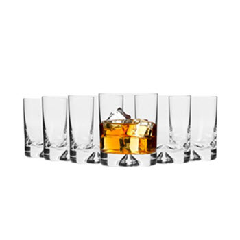 Krosno Triad Whisky Glass 260ml Set of 6