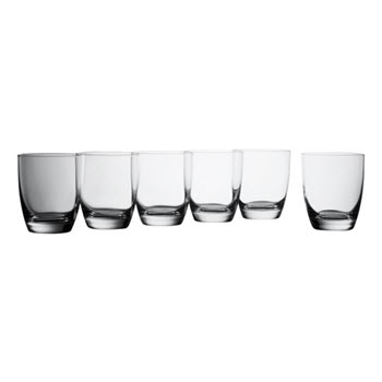 Krosno Vinoteca Gift Boxed Set of 6 x 390ml Bordeaux Glasses
