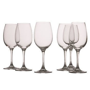 Maxwell & Williams Mansion 240ml White Wine Glass Set of 6