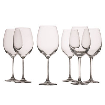 Maxwell & Williams Mansion 360ml Red Wine Glass Set of 6