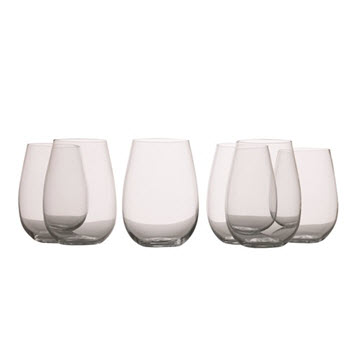 Maxwell & Williams Mansion 500ml Stemless White Wine Glass