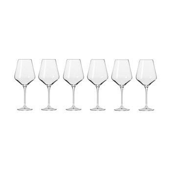 Krosno Avant-Garde Wine Glass 490ml Set of 6