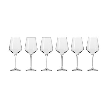 Krosno Avant-Garde Wine Glass 390ml Set of 6