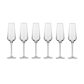 Krosno Avant-Garde Champagne Flute 180ml Set of 6