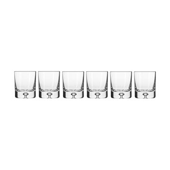 Krosno Legend Whisky Glass 250ml Set of  6