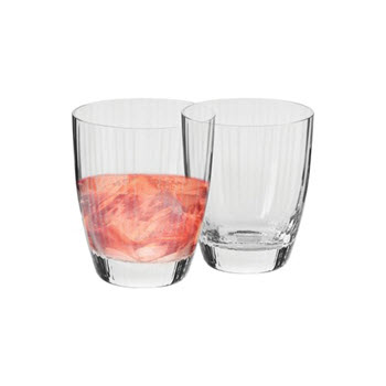 Krosno Opulence Set of 2 Double Old Fashion Glass 330ml