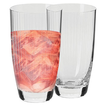 Krosno Opulence Set of 2 Hi Ball Glass 380ml