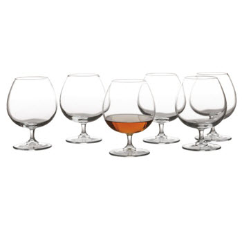 Maxwell & Williams Cuvee Brandy Glass 540ml Set of 6 Gift Boxed