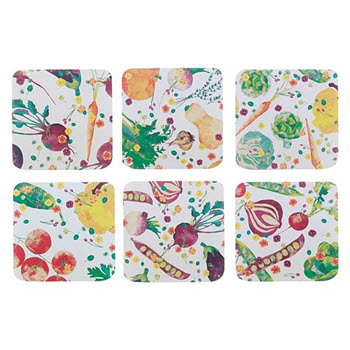 Maxwell & Williams Assorted Food For Thought Coasters Set of 6