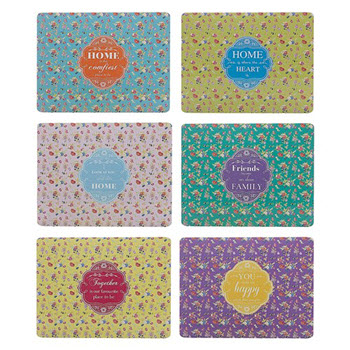Maxwell & Williams Assorted Tranquility Placemat Set of 6