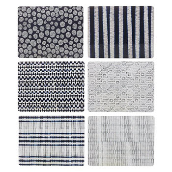 Maxwell & Williams Assorted Shibori Placemat Set of 6