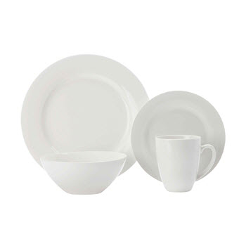 Maxwell & Williams White Basics 16 Piece Condo Dinner Set Gift Boxed