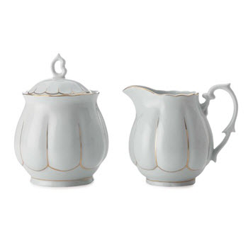 Maxwell & Williams Blush 2 Piece Sugar and Creamer Set Blue Gift Boxed