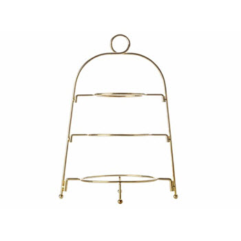 Maxwell & Williams Blush 3 Tier Gold Display Stand Gift Boxed