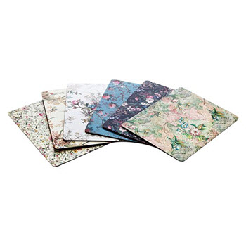 Maxwell & Williams Cashmere William Kilburn Blossom Placemats 34cm x 27cm Set of 6 Gift Boxed