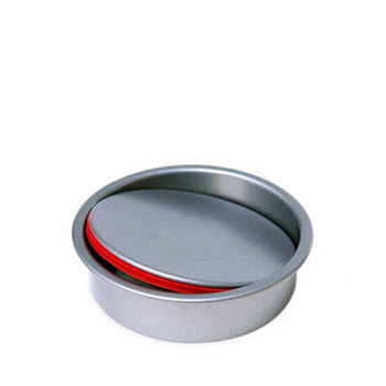 PushPan Round Non Stick 12cm Cake Tin with Removable Bottom
