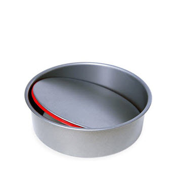 PushPan Round Non Stick 22cm Cake Tin with Removable Bottom