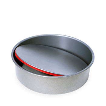 PushPan Round Non Stick 24cm Cake Tin with Removable Bottom