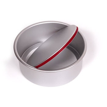 PushPan Round 28cm Cake Tin with Removable Bottom