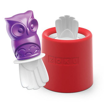 Zoku Ice Pop Mould Owl