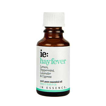 In Essence Hayfever Pure Essential Oil Blend with Lemon, Peppermint, Lavender & Cypress 25ml