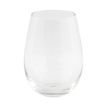 Cellar Tonic 580ml Set of 4 Stemless Red Wine Glasses