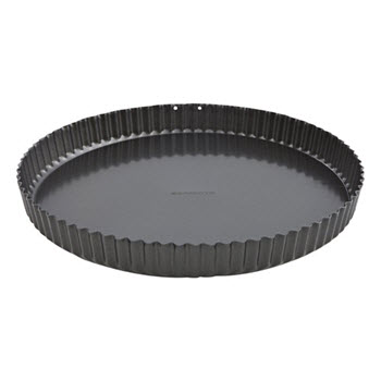 Soffritto Loose Base Fluted Quiche Tin 30cm