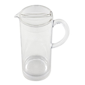 Cellar Seaport Polycarb Straight Pitcher with Lid Outdoor