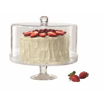 Alex Liddy Pave 30cm Cake Stand with Dome