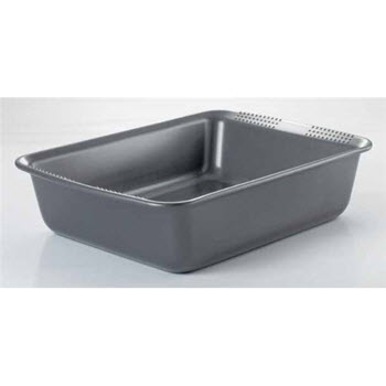 Soffritto Commercial 30 x 24cm Rectangular Cake Pan